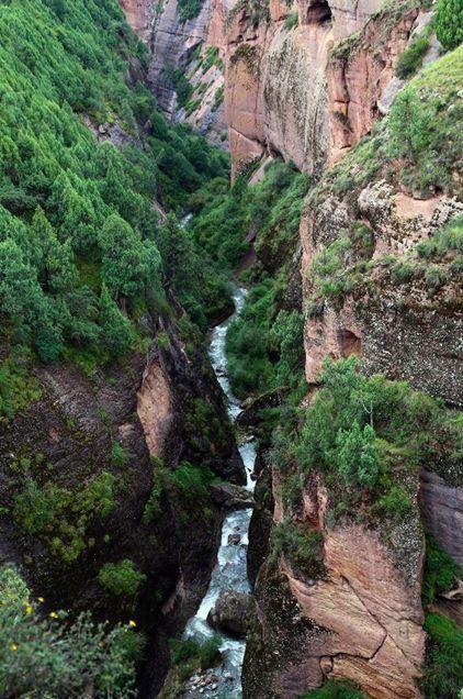 青藏高原世界级地质遗迹令人神往   位于青海省同德县河北乡北侧约2